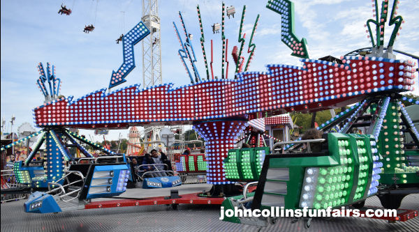image showing John Collins Funfairs new PWS Sizzler Ride